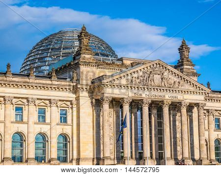 Reichstag Berlin Hdr