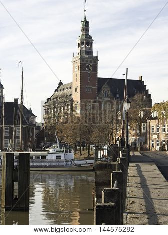 the City of leer in eastern frisia