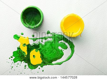 Abstract Colorful Paint