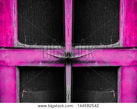 old pink wooden door abstract texture background
