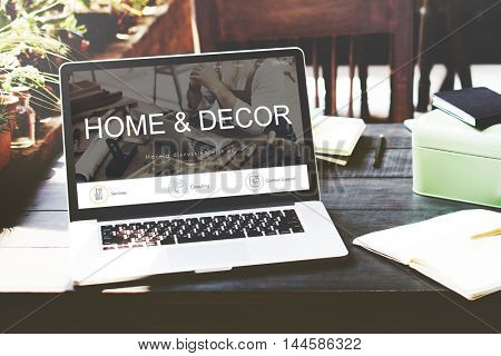 Renovation Repair Construction Design Website Concept