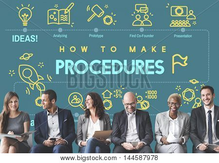 Procedures Action Approach Process Technique Concept