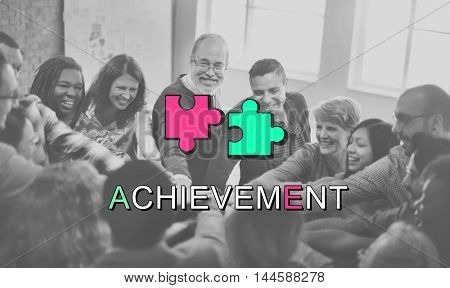 Achievement Connection Cooperation Graphic Concept