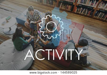 Activity Business Action Analysis Development Concept