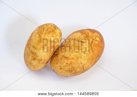 Close Up Potato With All Detail