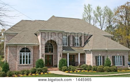 Luxury American Brick House
