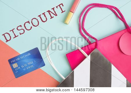 Discount Consumerism Price Promotion Graphic Concept