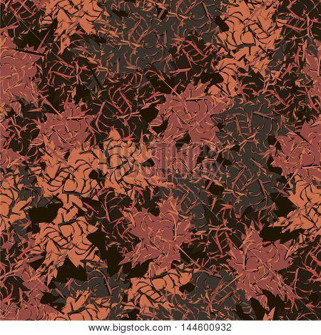 Military background camo pattern khaki seamless vector