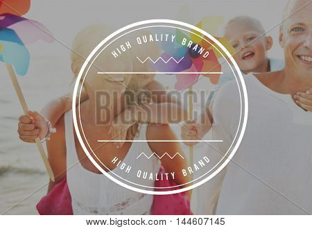 High Quality Brand Marketing Business Branding Copy Space Concept