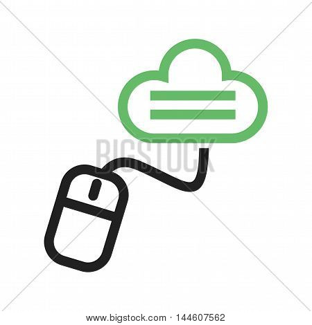 Cloud, storage, technology icon vector image. Can also be used for E Learning. Suitable for mobile apps, web apps and print media.