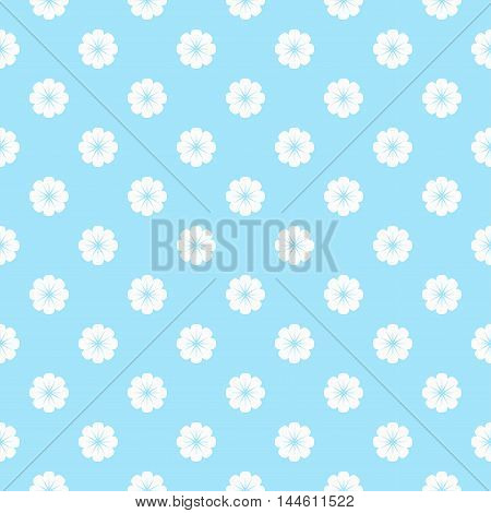 Cute pastel floral print. Elegant vector background