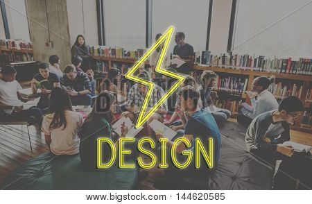 Library Books Students Education Concept