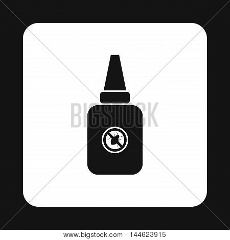 Insect spray icon in simple style isolated on white background. Protection symbol