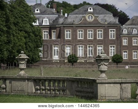 the Castle of nordkirchen in the german muensterland