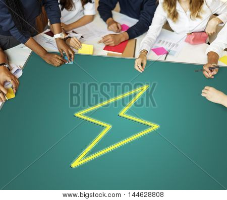 Teamwork Imagination Solution Ideas Concept