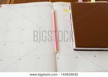notebook planer monthly income and expenses personal