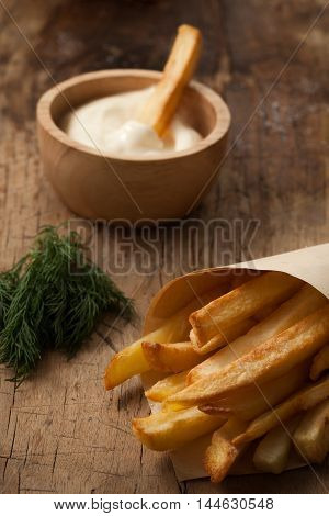 Fries French Sour Cream Still Life