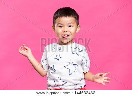 Adorable little kid