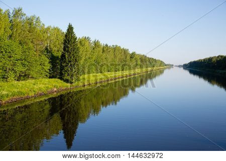 Navigable Canal Moscow (Moscow-Volga Canal)