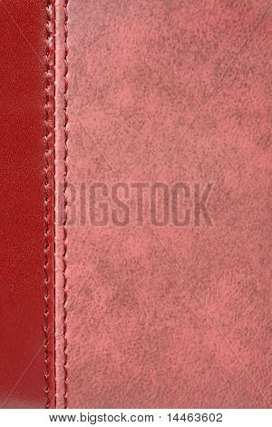 Natural Red Leather