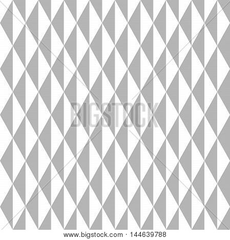 Geometric abstract vector light silver pattern. Seamless modern background