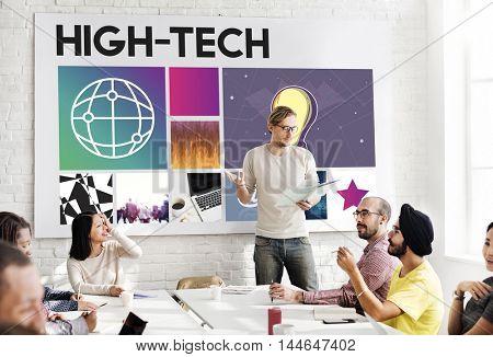 Technology Innovation Transformation Internet Concept