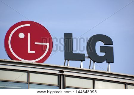 Letters Lg On A Building