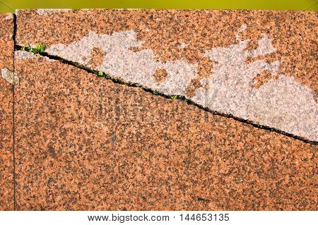 Texture, Background. Granite Curbs