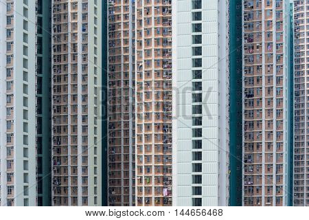 City building facade