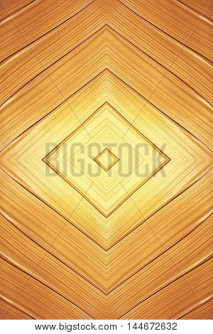 Golden shining stroke texture made with brush and paint hand drawn. Golden abstract background. Place for text. Raw material for design