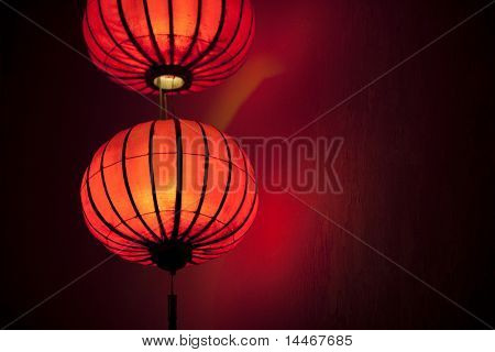 traditional asian lampion