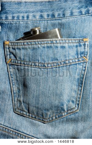 Hipflask In The Jeans Pocket