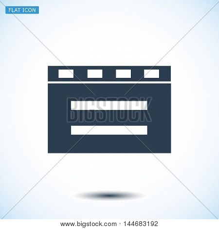 Cinema Clapper Icon