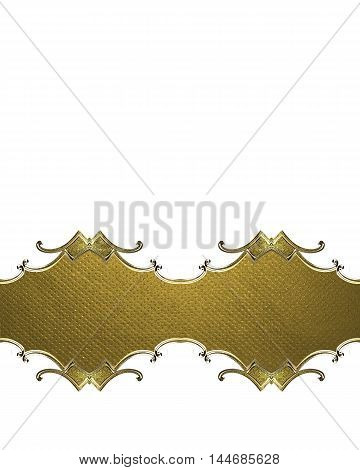Plate For Decoration Background. Template For Design. Copy Space For Ad Brochure Or Announcement Inv