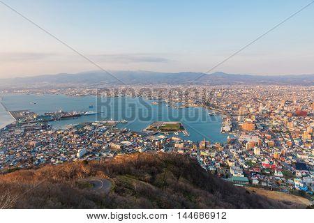 Hakodate Cityscape View