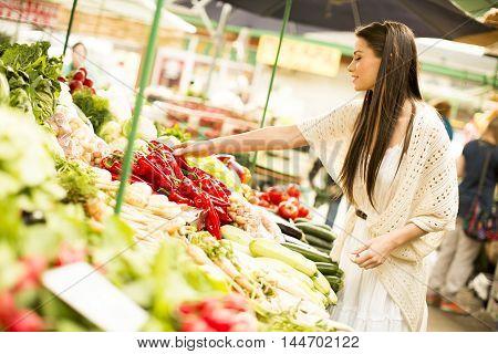 Woman On Market