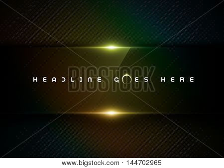 Vector of abstract futuristic glossy background