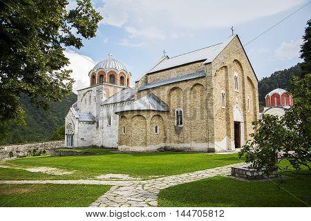 Studenica Monastery In Serbia