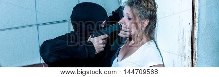 Aggressive Against Young Woman