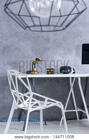 Study Room With Modern Furniture Idea