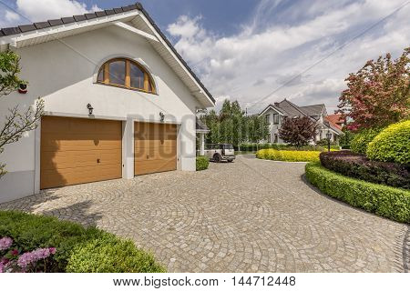 Double Garage Home