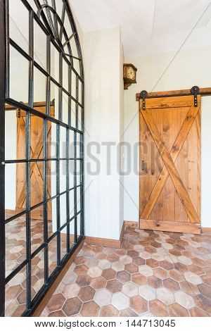 Just Wooden Door House
