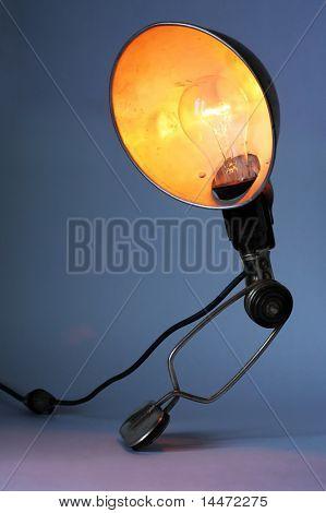 Die Close-up Foto des alten droplight