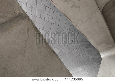 Seoul, South Korea - August 14, 2016: Dongdaemun Design Plaza Located In Seoul, Designed By Zaha Had