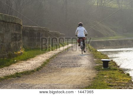 Canal Cyclist
