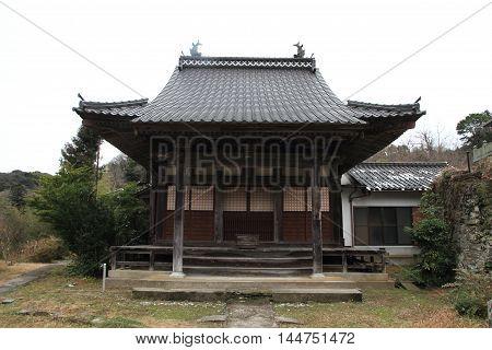 Kanzenon temple in Iwami ginzan silver mine Shimane Japan