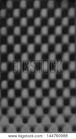Black gray grey abstract foam chess pattern texture background