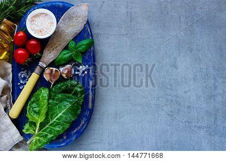 Vegetarian Cooking Background