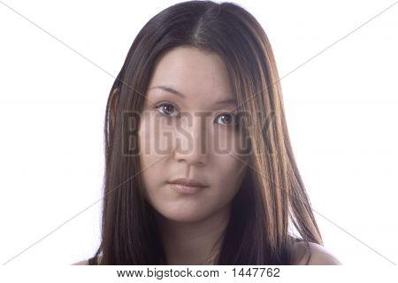 Beautiful Woman Not Happy