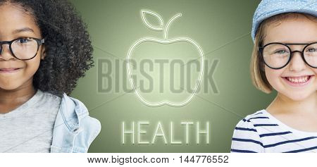 Health Nutrition Apple Healthy Eating Organic Concept